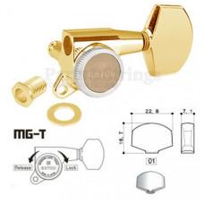 Колки запирающие Gotoh SG381-01-MGT 3L-3R Золото
