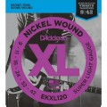 Струны D'Addario Nickel Wound Reinforced 9-42 (EKXL120)