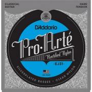 Струны D'Addario Classic Nylon Hard (EJ31)