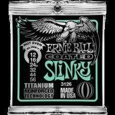 Струны Ernie Ball Coated Titanium Slinky 12-56 (3126 )