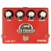 Бас-гитарный эффект Yerasov RF-1 Red Formica (компрессор-сустейнер)