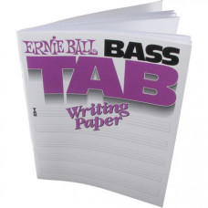 Табулатурная тетрадь для бас-гитаристов Ernie Ball (P07022)