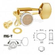 Колок запирающий левый Gotoh SG381-07L-MGT/WS Золото