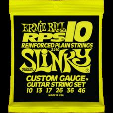 Струны Ernie Ball Reinforced Plain RPS10 Slinky 10-46 (2240)