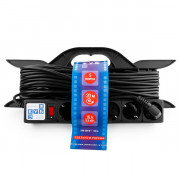 PC-LG5-R-20 PowerCube Удлинитель на рамке 16А/3,5 кВт, с вык. 20м, Электрическая мануфактура
