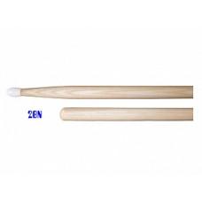 Палочки Lutner с нейлоновым наконечником, орех гикори (2BN)