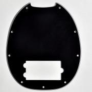 MS-B3P Защитная накладка для бас-гитары, черная, Hosco