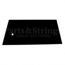Пластик Hosco для изготовления панелей (pickguard), лист 23х39 см, трехслойный, черный (PG-B3)