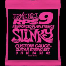 Струны Ernie Ball Reinforced Plain RPS9 Slinky 9-42 (2239)