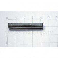 Верхний порожек GF (Guitar Factory), графит, 41.7x8.7x5.2 NTC-14