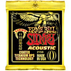 Струны Ernie Ball Acoustic Slinky Titanium Coated 11-52 (2158)