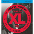 Струны D'Addario Nickel Wound Bass 55-110 (EXL230 XL)