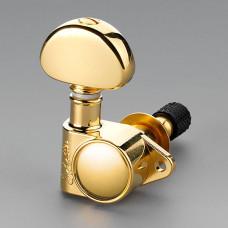 Колки Schaller M6 Vintage Toplocking 3+3, Золото (10120523.13)