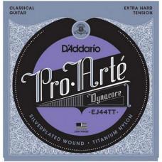 Струны D'Addario Pro Arte  Dyna Core Classic Extra Hard (EJ44TT)