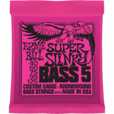 Струны Ernie Ball Super Slinky Bass 5-string 40-125 (2824)