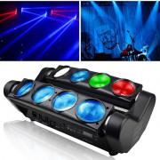 LM80 Spider beam Светодиодный прожектор смены цвета (колорчэнджер)