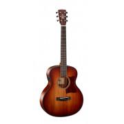Little-CJ-Blackwood-OPLB CJ Series Электро-акустическая гитара 3/4 с чехлом, санберст, Cort