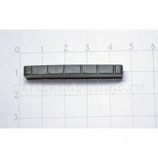 Верхний порожек GF (Guitar Factory), графит, 43x7.5x4.3 NTC-12