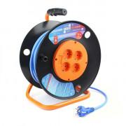 PC-BG4-F-40-K PowerCube Шнур-удлинитель на катушке, морозостойкий, 40м, Электрическая мануфактура