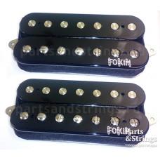 Комплект звукоснимателей для 7-ми струнной гитары Fokin Demolition 7, черный