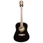 Акустическая гитара Excalibur полноразмерная цвет черный (EF(CF)-6001FM)