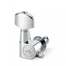 10040220.01.36 M6 Mini Комплект одиночной колковой механики, 6 левых, маленькие, хром, Schaller