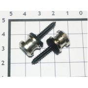 Крепление под стреплоки Schaller никель (2шт)