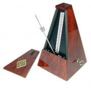 801 Maelzel Метроном механический, деревянный корпус, без звоночка, глянцевый, Wittner