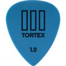 Медиатор Dunlop Tortex TIII синий 1.0мм