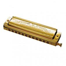 1248SG-C Unichromatic С Губная гармошка, золото, Tombo
