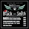 Струны BlackSmith 5-String Bass 45-135 (NW-45135-5)