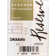 DJR0235 Reserve Трости для саксофона альт, размер 3.5, 2шт, Rico