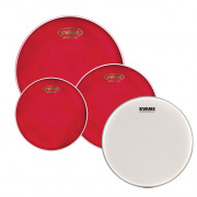 EPP-HRUV1-F Hydraulic Red Fusion Набор пластиков для малого и том барабана (10, 12, 14