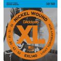 Струны D'Addario Nickel Wound 10-52 (EXL140XL)