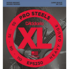 Струны D'Addario Pro Steels Bass 55-110 (EPS230)