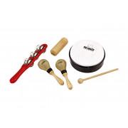 NINOSET1 Набор перкуссии, 5 предметов, в чехле, Nino Percussion