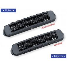 12080400 STM Бридж Tune-O-Matic, черный хром, Schaller