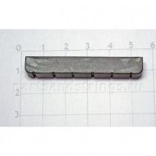 Верхний порожек GF (Guitar Factory), графит, 52x8.7x5 NTC-6