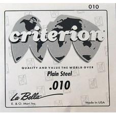 Струна La Bella Criterion для гитары 010, сталь (CPS010)