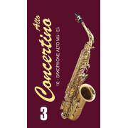 FR17SA04 Concertino Трости для саксофона альт № 3 (10шт), FedotovReeds