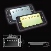 BH-20(CR)Neck Звукосниматель магнитный, хамбакер, нековый, хром, Belcat