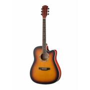 Акустическая гитара Foix, санберст (FFG-2041C-SB)