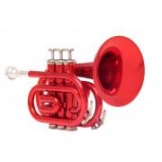 JP159R Труба Bb компактная, красная, John Packer