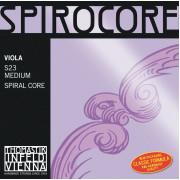 S23 Spirocore Комплект струн для альта размером 4/4, среднее натяжение, Thomastik
