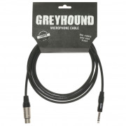 Кабель Klotz Greyhound микрофонный XLR female, стерео jack 6,3, 3м (GRG1FP03.0)