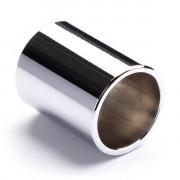 221-Dunlop Слайд стальной хромированный, короткий, Dunlop
