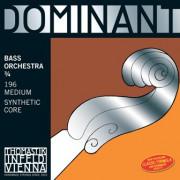 196 Dominant Orchestra Комплект струн для контрабаса размером 3/4, оркестровые, Thomastik