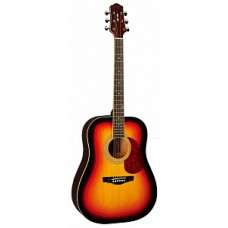 Акустическая гитара Naranda, цвет санберст (DG120VS)