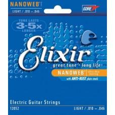 Струны Elixir NanoWeb 10-52 (12077)