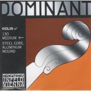 130 Dominant Отдельная струна E/Ми для скрипки размером 4/4, среднее натяжение, Thomastik